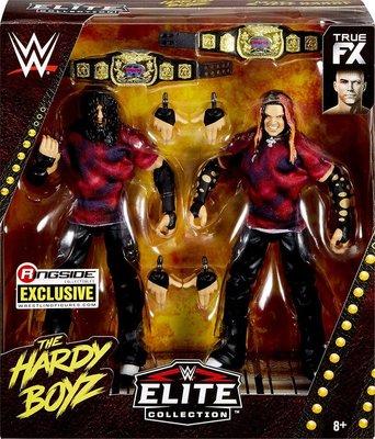 ☆阿Su倉庫☆WWE Brood Hardy Boyz Matt & Jeff Hardy Elite 限定精華版雙人組