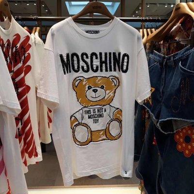 【全新正貨私家珍藏】Mochino MAIN RTW 可愛小熊系列女T恤/((部份現貨))