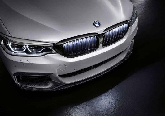 【樂駒】BMW G30 G31 M Performance 原廠 夜色 水箱罩 鼻頭 空力 外觀 套件 改裝 精品