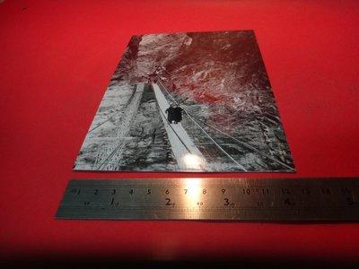 【愛悅二手書坊 A-01-4】民國四十六年 先總統 蔣公偕夫人巡視東西橫貫公路試行吊橋
