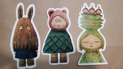 中村萌 TTF 台北國際玩具大展 明信片 3張 一套 一組
