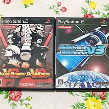 PS 2 兩隻 GUITAR FREAKS V2 AND DRUM MANIA V2 GUITARFREAKS V3 AND DRUMMANIA V3