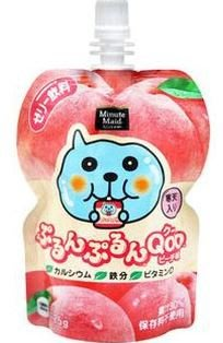 Qoo果汁凍飲水蜜桃口味~買多可算便宜喔