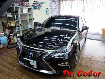 Dr. Color 玩色專業汽車包膜 Lexus ES300h 細紋自體修復透明犀牛皮_引擎蓋 / 前保桿 / 前葉子板