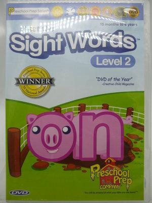 【月界二手書店2】Meet the Sight Words:Level 2(DVD光碟)_非書籍 〖少年童書〗ADI