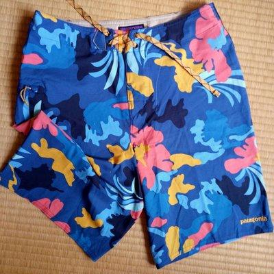 patagonia 阿囉哈熱帶風海灘褲,防曬係數50+UPF