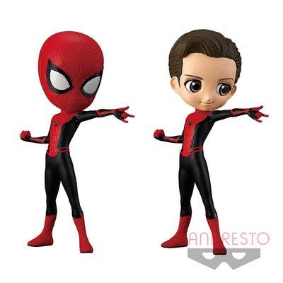 《潮流本舖》日版 景品 Q-Posket Qposket Marvel 漫威 蜘蛛人 彼得帕克 兩款一套