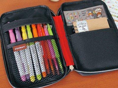 護照包 3C收納包 開學季 包中包 筆袋 化妝包 ( USE ME燒餅包 SPC-228) 隨身小物iHOME愛雜貨