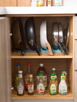 新款家居居家家廚房鍋蓋架放鍋蓋的架子置物架家用鍋架平底鍋瀝水架收納架
