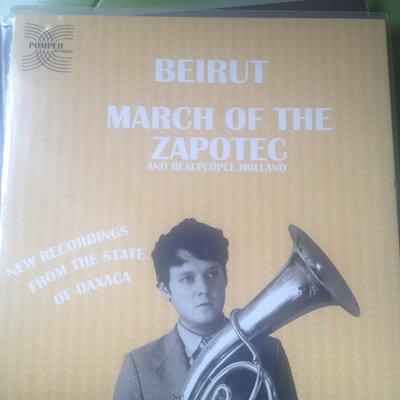 (下標即結標)(LP/黑膠唱片)Pompeii發行-Beirut-March of the Zapotec/Realpeople Holland(雙LP)