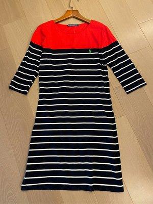 PO LO   POLO ESTABLISHED 67  棉質條紋 洋裝