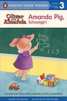 *小貝比的家*AMANDA PIG, SCHOOLGIRL/ LEVEL 3/平裝7~12歲/第三階