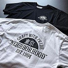 xsPC NEIGHBORHOOD 東京限定 TOKYO / C-TEE NBHD 隱藏版 白/黑 S~XL