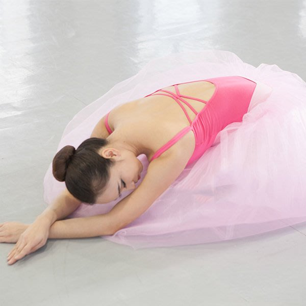 5Cgo【鴿樓】會員有優惠 524402715289 女成人連體服吊帶體服舞蹈服形體服芭蕾舞練功服 後三交叉款體操服