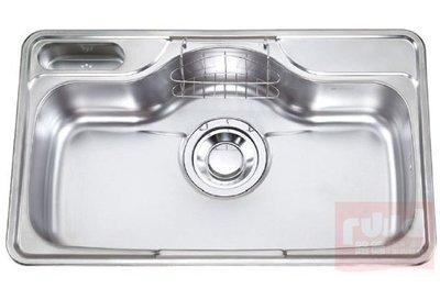 【路德廚衛】ENZIK sink韓國不鏽鋼水槽 EDS-850 P2  加厚1.0mm不鏽鋼水槽 吸音處理