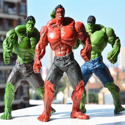 復仇者聯盟 綠巨人HULK 8寸 關節可動浩克人偶模型手辦玩具禮物
