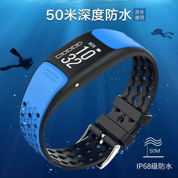 GPS運動紀錄手環 P8  心率計步 訊息同步 智能手環錶