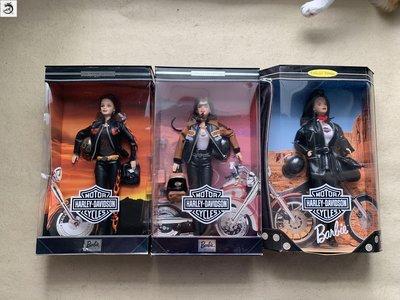 九州動漫芭比 Barbie Harley Davidson 2000 哈雷機車賽車手 5號  現貨