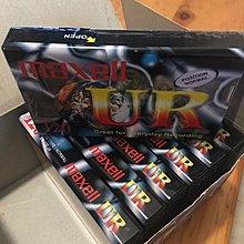 全新未用 絕版 Maxell 卡式錄音帶 120分鐘 7盒