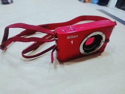 Nikon J1 單主機 微單眼 紅色熱門款