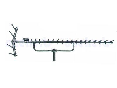現貨供應 YT-2004S 台灣製 全新不銹鋼大蜈蚣王 超強不鏽鋼數位天線20節.反射波4節共24節 白鐵不生鏽