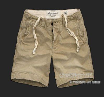 ☆✿fashionodd ☆ξ【Abercrombie & Fitch 】a&f Lake Placid 休閒工作短褲 【現貨】 Men 28 30 31 32