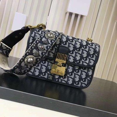 Dior Dioraddict帆布提花手提包 翻蓋包 單肩包 斜挎包 小方包 精品包 通勤包 休閒包 側背包 多色 禮物