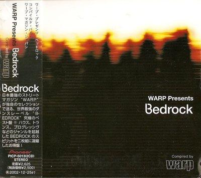 K - WARP Presents Bedrock Compiled by WARP - 日版 2 CD - NEW