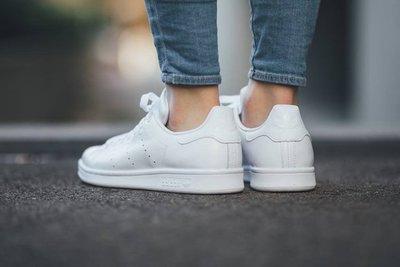 Adidas Originals Stan Smith 白色皮革 S75104 全白 台灣未發 現貨 22.5cm
