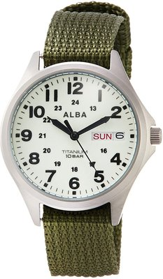 日本正版 SEIKO 精工 ALBA AQPJ403 手錶 運動錶 日本代購