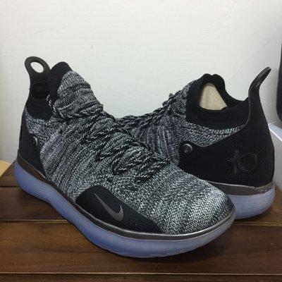 Nike Zoom KD11 XI Oreo 雪花 US11