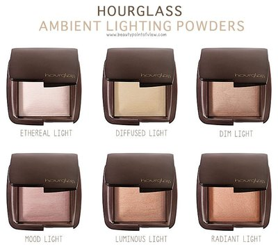 EUstore現貨►Hourglass高光打亮修容餅Ambient Lighting Diffused/Ethereal