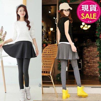 【JD Shop】韓版顯瘦假兩件褲裙 ...