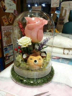 原裝迪士尼公仔 製作 TsumTsum Bambi 小鹿斑比  永恆花 保鮮花 永生花 卡通花 情人節禮物 M size