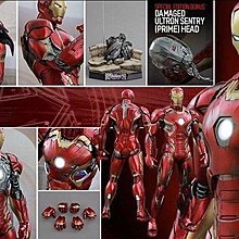 Hottoys Hot toys 全新啡盒未開 QS006 1:4 Ironman mark 45 special edition