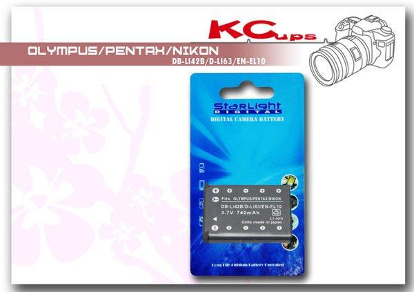 【凱西影視器材】PENTAX D-LI63 鋰電池 M30 T30 M40 V10 V20 L36 L40 ENEL10