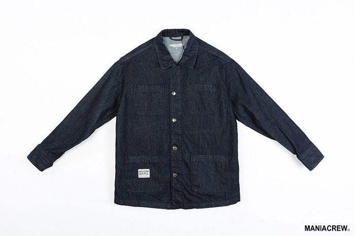 [NMR] MANIA 長袖 襯衫 丹寧 18 A/W Denim Jacket