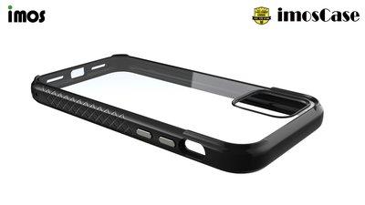 超 特價  imos 蘋果 iPhone11 6.1 (2019) 美國軍規認證雙料防震保護殼(尊爵黑)TPU材質邊
