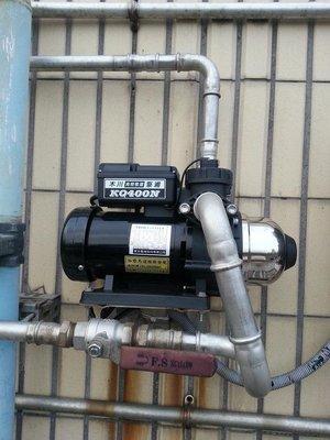 *黃師傅*【木川泵浦9】 KQ400N 恆壓泵浦~1/2HP加壓馬達~東元馬達~ KQ400 N