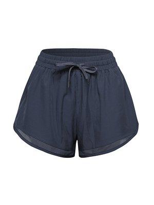 XXW專業運動跑步夏季短褲女防走光寬鬆速干瑜伽褲新款系帶健身褲褲子