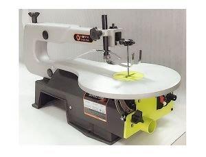 """桌上型線鋸機 16""""無段變速線鋸機 線鋸機 絲鋸機 曲線機 切割機 雕刻 中空雕刻 diy 木工 藝品 木雕"""