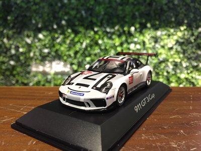 1/43 Spark Porsche 911 (991) GT3 Cup 2017 WAP0201500H【MGM】