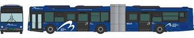 [玩具共和國] 4543736313199 横浜市交通局 YOKOHAMA BAYSIDE BLUE連節バス