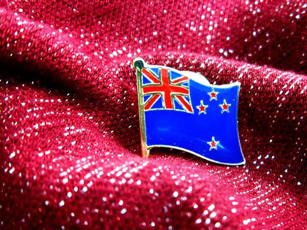 【衝浪小胖】紐西蘭國旗徽章/胸章/勳章/別針/獎章/200國可選購蒐集