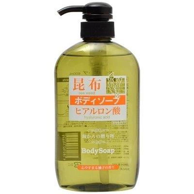 『山姆百貨』日本 熊野 昆布馬油沐浴乳 600ml 每天出貨 門市自取 面交
