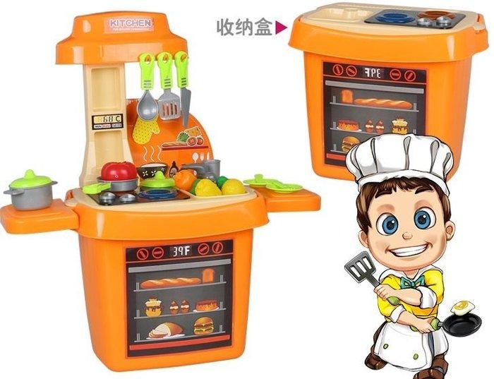 BOWA多功能廚房收納桶遊戲組~快樂小廚師工具箱~多功能工具遊戲桶~優質家家酒玩具~◎童心玩具1館◎