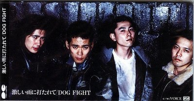 【黑妹音樂盒】DOG FIGHT--被猛烈的雨打---全新未拆封