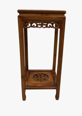 【樂居宏品二手家具館】全新中古傢俱拍賣 EA729AH*全新柚木電話架*沙發椅 餐椅 全新家具 新竹苗栗桃園床組床架