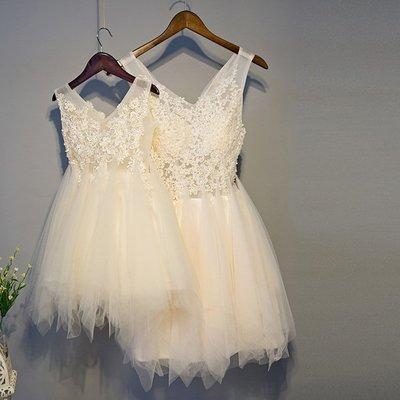 【曼妮婚紗禮服】3件免郵~新款公主服母...
