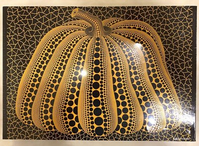 DU-03 草間彌生 南瓜拼圖 73.5x51cm 藝術掛飾 (裝置藝術、投資、日本、當代、藝術、奈良美智、KAWS)